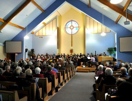 The Alzheimer Society London and Middlesex Intergenerational Choir at Oakridge Presbyterian Church in London Ont. Nov. 21, 2014. CHRIS MONTANINI\LONDONER\QMI AGENCY