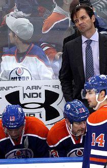 Oilers versus New Jersey