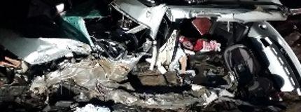 Car crash Red Deer