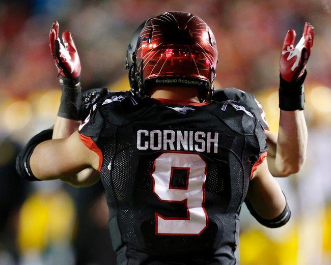 Jon Cornish. Photo by Al Charest/Calgary Sun