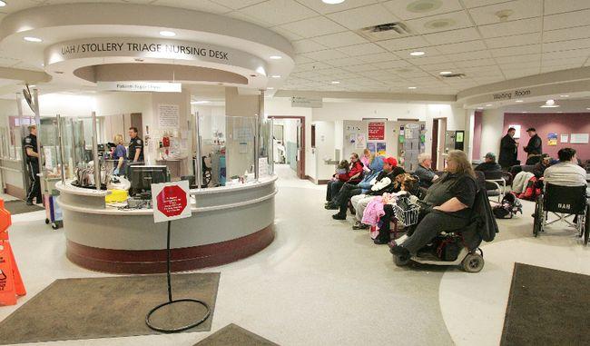 Toronto General Hospital Emergency Room Wait Times