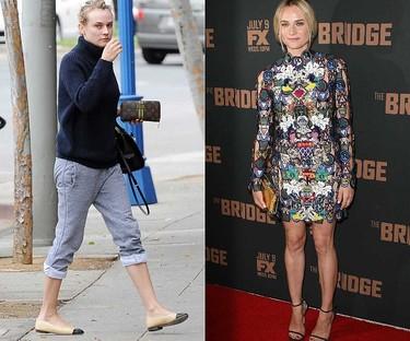 BEFORE AND AFTER: Diane Kruger (WENN.COM)