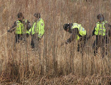 Police search South Keys homicide scene