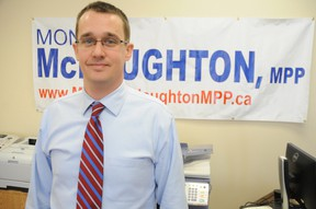 Lambton-Kent-Middlesex MPP Monte McNaughton
