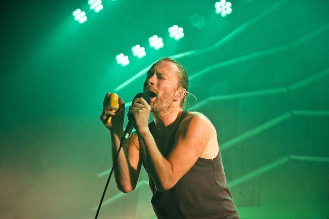 """Thom Yorke of Radiohead (<A HREF=""""http://www.wenn.com"""" TARGET=""""newwindow"""">WENN.COM</a>)"""