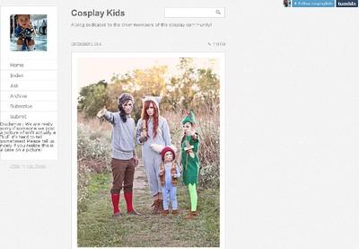 Cosplay Kids. (SCREENSHOT)