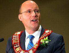 London Mayor Matt Brown (MIKE HENSEN, The London Free Press)