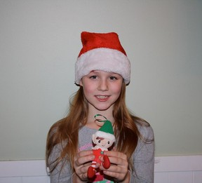 Barbara Wamboldt's eight-year-old granddaughter Rachel.