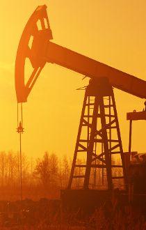 Oil rig file photo