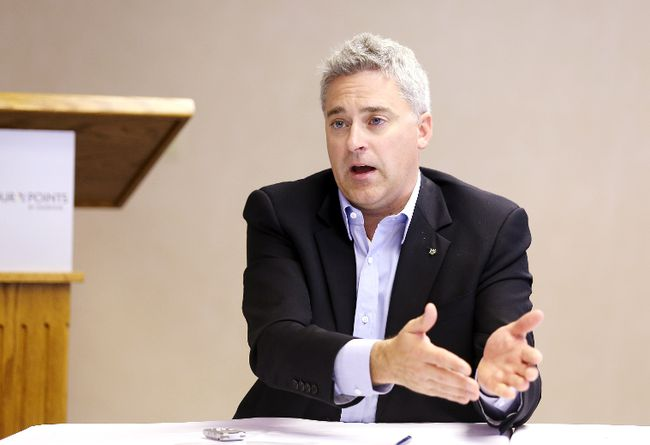 Progressive Conservative MPP Michael Harris (QMI Agency)