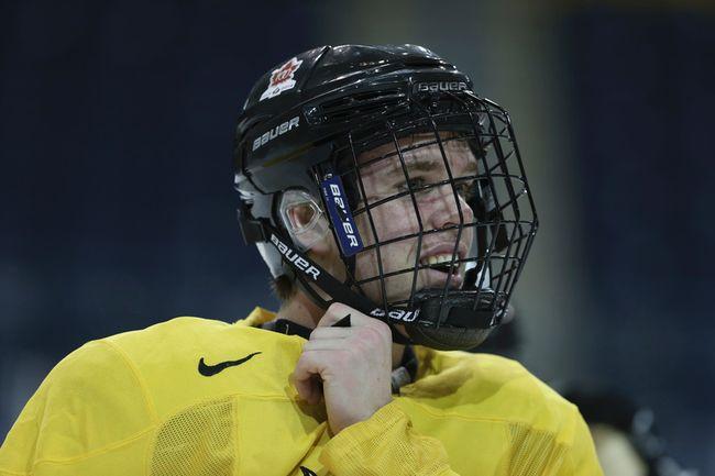 Connor McDavid at the World Junior practice in Toronto on Saturday, Dec. 13, 2014. (Veronica Henri/QMI Agency)