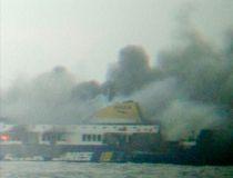 Norman Atlantic burns