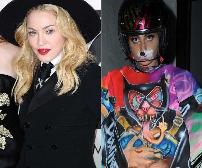 """Madonna and Lady Gaga (<A HREF=""""http://www.wenn.com"""" TARGET=""""newwindow"""">WENN.COM</a>)"""