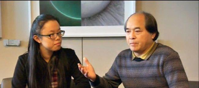 Diran Lin, father of Jun Lin, addresses the media in Montreal on Dec. 29, 2014. (Screen grab)