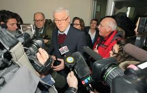 Premier Greg Selinger entered the race for the leadership of the provincial NDP Jan. 2, 2015.