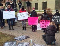 Dalhousie protest