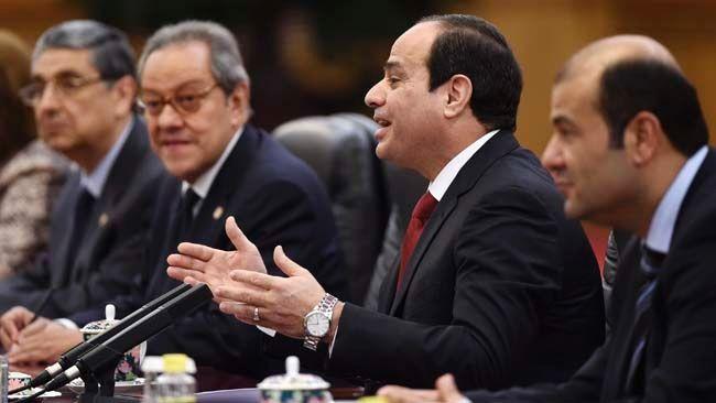 President Egypt 2015 1 The President of Egypt Made