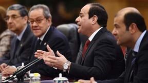 Egypt's President Abdel Fattah al-Sisi in the Great Hall of the People in Beijing December 23, 2014.   REUTERS/Greg Baker/Pool