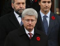 Harper Mulcair Trudeau
