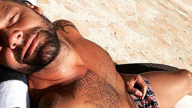 '2014's Last Tan' - Instagram.com/Ricky_Martin