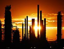 Part of the Esso Strathcona Refinery in Edmonton. QMI File