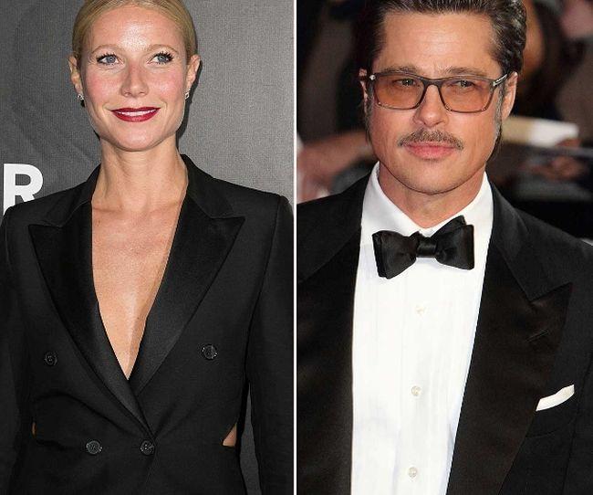 """Gwyneth Paltrow and Brad Pitt (<A HREF=""""http://www.wenn.com"""" TARGET=""""newwindow"""">WENN.COM</a>)"""