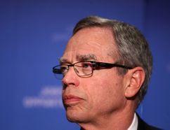 Federal Finance Minister Joe Oliver speaks to media in Calgary, Alta on Thursday January 15, 2015 before addressing the Calgary Chamber of Commerce. Jim Wells/Calgary Sun/QMI Agency