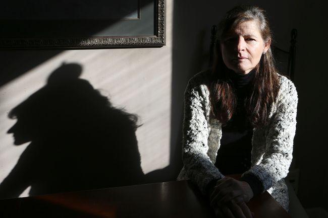 Toni Vernon, inside her Toronto home on Jan. 16, 2015, faces an uncertain future. (Veronica Henri/Toronto Sun)