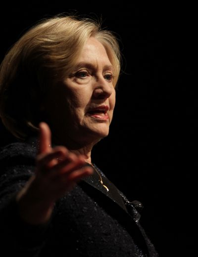 Hilary Rodham Clinton spoke in Winnipeg today.  Wednesday, January 21, 2015.  Chris Procaylo/Winnipeg Sun/QMI Agency