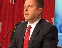 Ontario Ombudsman Andre Marin speaks to the media on Tuesday, Jan. 27, 2015. (ANTONELLA ARTUSO/Toronto Sun)