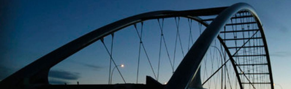 Shaganappi pedestrian bridge