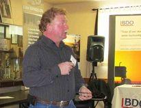Dan Darling, Vice president of the Canadian Cattlemen's Association in Elmwood.