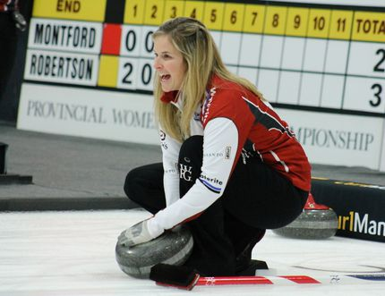 Jennifer Jones. Winkler Manitoba. Scotties (ANDREW PRUDEN/Morden Times/Winkler Times)