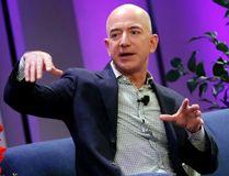 Amazon president, chairman and CEO Jeff Bezos. REUTERS/MIKE SEGAR