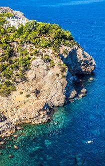 Cala Tarida beach