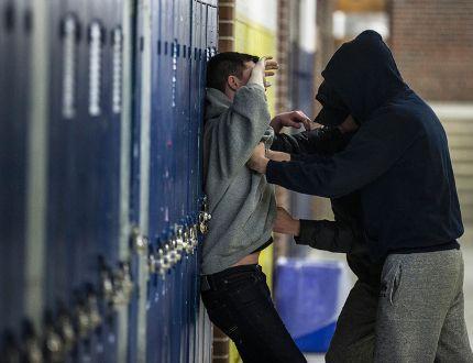 Photo illustration showing violence in schools taken on Jan. 29, 2015. (Craig Robertson/Toronto Sun)