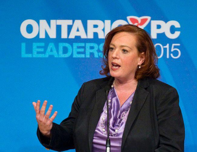 Ontario PC leadership candidate Lisa MacLeod in London, Ont. on Jan. 26 2015. (Craig Glover/QMI Agency)