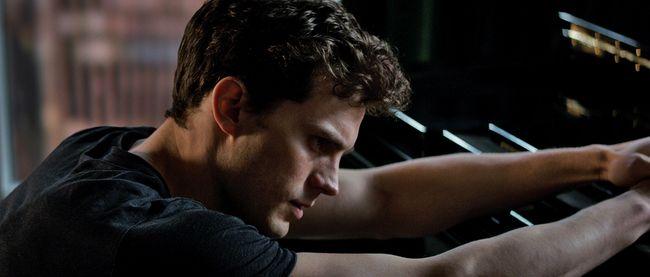 "Jamie Dornan in ""Fifty Shades of Grey."""
