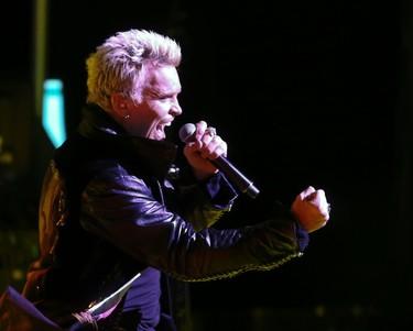 Billy Idol in concert at Massey Hall  on Wednesday, Feb. 4, 2015, in Toronto.Veronica Henri/Toronto Sun/QMI Agency