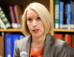 Dr. Anny Sauvageau. DAVID BLOOM/EDMONTON SUN FILE