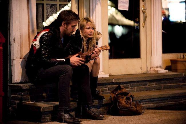 "Ryan Gosling and Michelle Williams in the bleak ""Blue Valentine"" (Handout)"