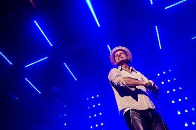 Gord Downie of the Tragically Hip performs at Rexall Place in Edmonton, Alta., on Thursday, Feb. 12, 2015. Codie McLachlan/Edmonton Sun/QMI Agency
