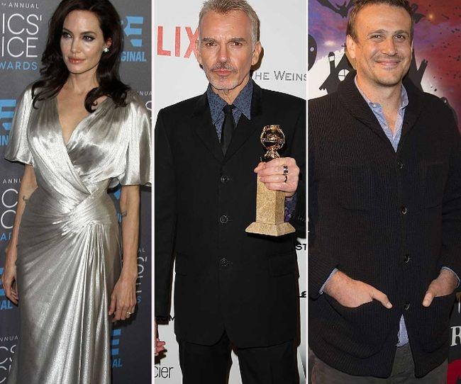 "Angelina Jolie, Billy Bob Thornton and Jason Segel (<A HREF=""http://www.wenn.com"" TARGET=""newwindow"">WENN.COM</a>)"
