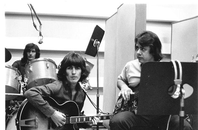 George Harrison and Joe Osborn