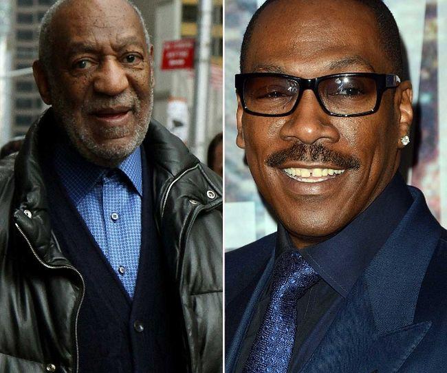 """Bill Cosby and Eddie Murphy (<A HREF=""""http://www.wenn.com"""" TARGET=""""newwindow"""">WENN.COM</a>)"""