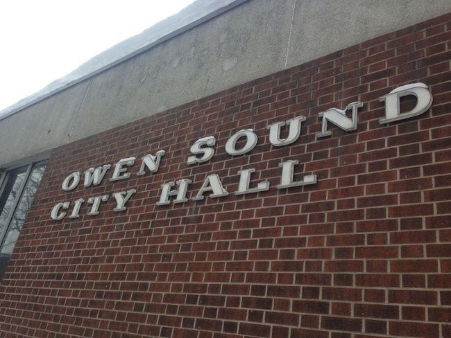 Owen Sound city hall. DENIS LANGLOIS