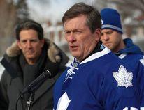 Mayor John Tory is a loyal Maple Leafs fan. (JACK BOLAND/Toronto Sun)