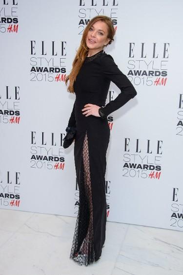 "Lindsay Lohan at The ELLE Style Awards 2015. (Joe/WENN.com)  PDRTJS_settings_8067415 = { ""id"" : ""8067415"", ""unique_id"" : ""default"", ""title"" : """", ""permalink"" : """" }; (function(d,c,j){if(!document.getElementById(j)){var pd=d.createElement(c),s;pd.id=j;pd.src=('https:'==document.location.protocol)?'https://polldaddy.com/js/rating/rating.js':'http://i0.poll.fm/js/rating/rating.js';s=document.getElementsByTagName(c)[0];s.parentNode.insertBefore(pd,s);}}(document,'script','pd-rating-js'));"