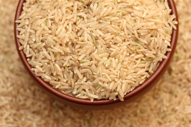 LEAST ADDICTIVE5. Brown rice