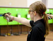 Krista Hildebrand, Shooting, Winkler, Canada Games, target